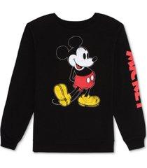 disney juniors' mickey mouse sweatshirt