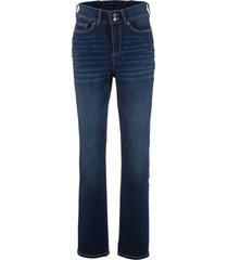 jeans push up elasticizzati straight (blu) - bpc bonprix collection
