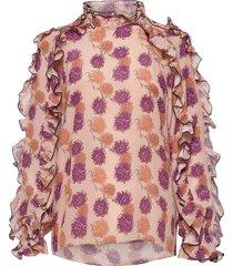charlotte blouse lange mouwen multi/patroon hofmann copenhagen