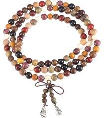 108 bracciale preghiera perline 8mm perle catena buddista tibetana buddista naturale per unisex