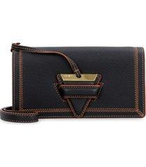 loewe barcelona leather crossbody bag