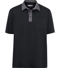 poloshirt men plus zwart