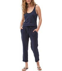 michael stars tank style jumpsuit, size medium in admiral at nordstrom