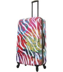 "halina bee sturgis serengeti reflections 28"" hardside spinner luggage"