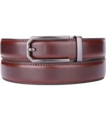gallery seven men's classic ratchet leather belt