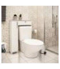 balcão para vaso sanitário 1 módulo 1 gaveta lilies móveis
