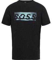 tee 4 t-shirts short-sleeved svart boss