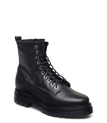 sally shoes boots ankle boots ankle boot - flat svart pavement