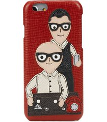dolce & gabbana women's family iphone 6 case - red
