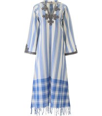 tory burch embroidered kaftan dress