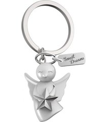 llavero angel sweet dreams estilo europeo mtm-blanco