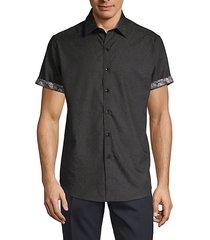equinox tone-on-tone short-sleeve shirt