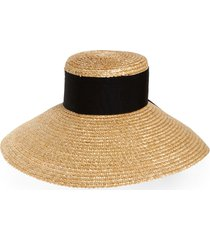 women's eugenia kim mirabel straw hat - beige