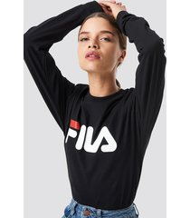 fila classic pure long sleeve shirt - black