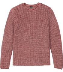 pullover in maglia operata (viola) - bpc selection