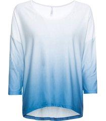 maglia a maniche lunghe sfumata (bianco) - rainbow