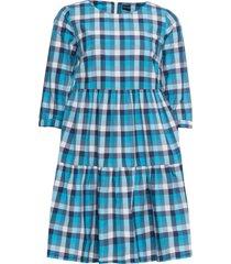 abito di jersey a quadri (blu) - rainbow
