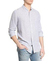 men's rails connor regular fit stripe button-down shirt