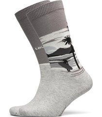 levis unisex surf scenic regular cu underwear socks regular socks grå levi´s