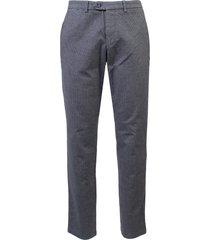gardeur broek flatfront slim fit sonny-8 antraciet