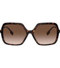 burberry burberry be4324 dark havana sunglasses