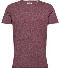 mouliné o-neck tee s/s t-shirts short-sleeved lila lindbergh