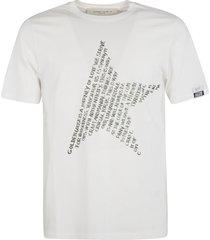 golden goose adamo regular full values star t-shirt
