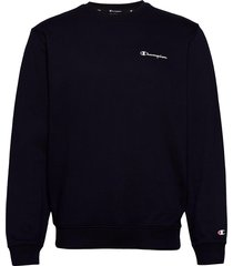 crewneck sweatshirt sweat-shirt tröja blå champion