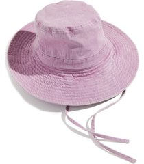 free people lake wash bucket hat in lilac at nordstrom