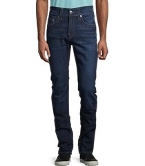 true religion men's rocco skinny jeans - dark wash - size 44