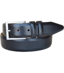 lejon men's the beveled edge leather italian calfskin dress belt