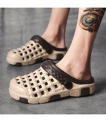 moda de verano para hombre sandalias de playa zuecos clásicos