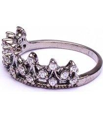 anel boca santa semijoias princesa real falange ouro negro
