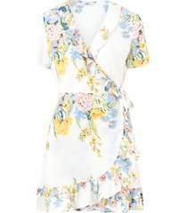 omlottklänning onlalma life poly s/s wrap dress