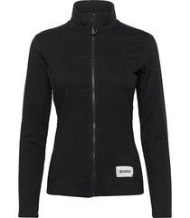 jacket flavia flavia sweat-shirt tröja svart björn borg