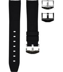 horus watch straps sport 20mm rolex strap - black