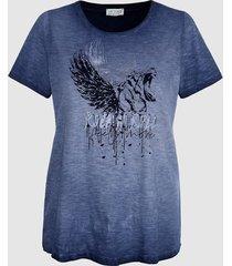 shirt sara lindholm jeansblauw