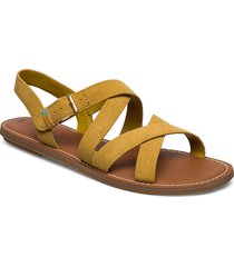 amber gold suede shoes summer shoes flat sandals gul toms