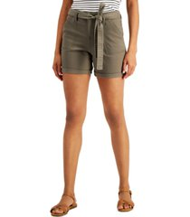 style & co petite utility shorts, created for macy's