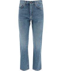 totême twisted seam jeans