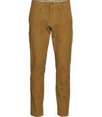smart 360 chino dull gold cord chino broek bruin dockers