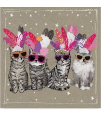 "hammond gower fancy pants cats vi canvas art - 27"" x 33"""