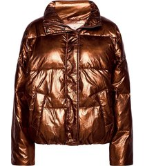 padded metallic jacket fodrad jacka brun scotch & soda