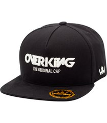 bonã© overking aba reta snapback the original cap preto - preto - masculino - dafiti