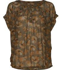 jolene blouses short-sleeved bruin rabens sal r