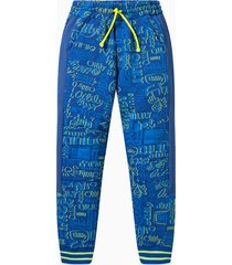 oilily hombres sweatpants- blauw