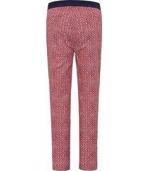 broek van emilia lay rood
