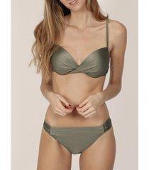 bikini admas 2-delige bikini push-up set heldere khaki adma's