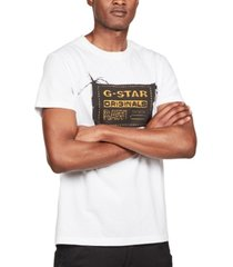 g-star raw men's originals logo graphic t-shirt, created for macy's