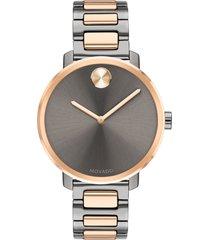 women's movado bold bracelet watch, 34mm